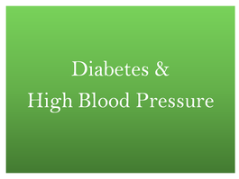 Treating diabetes and prediabetes